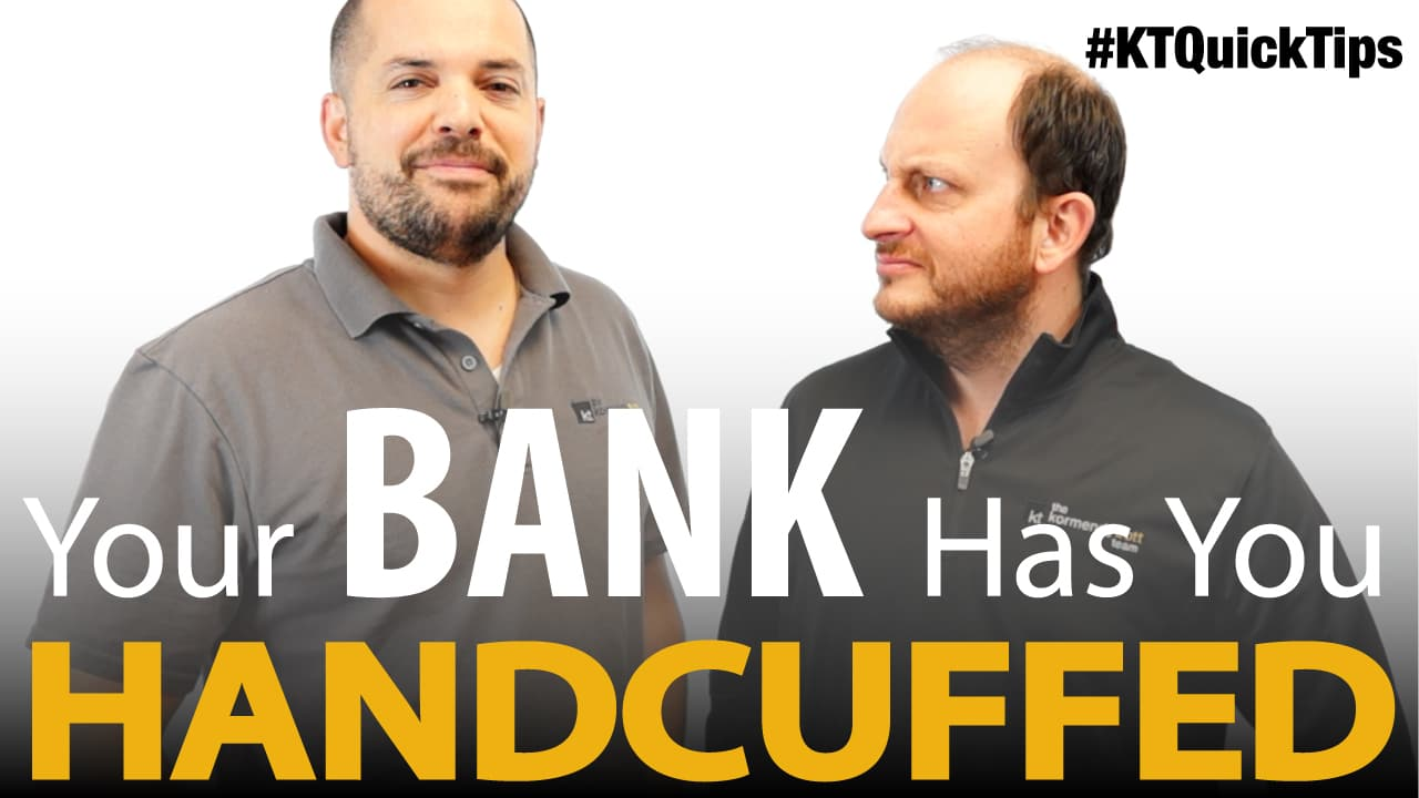 Your Bank Has you Handcuffed!