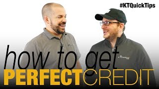 How To Get a Perfect Credit Score - E153