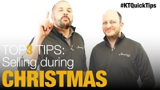 Top 3 Tips for Selling During Christmas