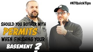 Should You Bother With Building Permits When Finishing Your Basement? - E154