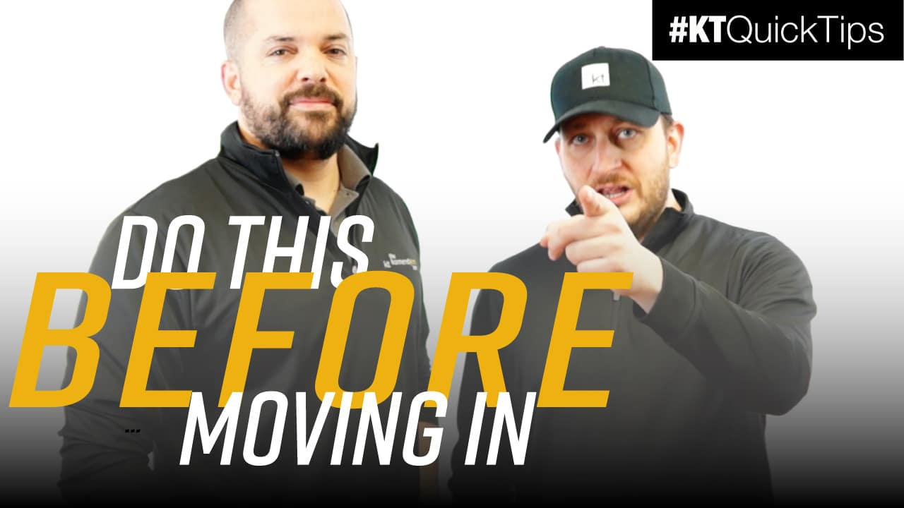 Do This Before Moving In | #KTQuickTips E157